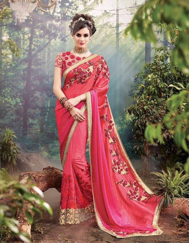 fa7a56aa2f Buy Online Net Saree On Cash On Delivery Below 8500 – Banglewale.com