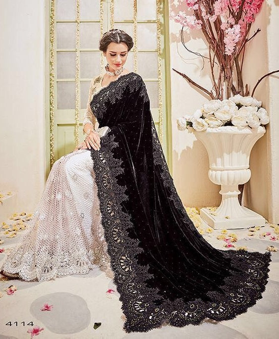 656c0a37cfb1f Online Shopping Bridal And Party Wear Sarees Below 17500 ...