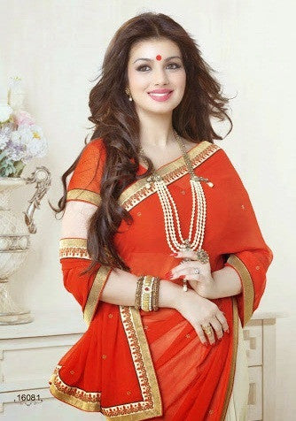 Red Angel Saree 16081