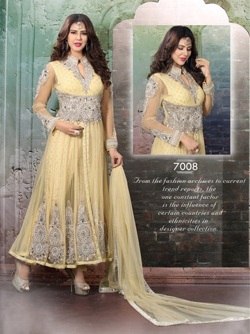 Heavy embroidery anarkali suits