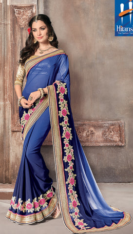 Solitaire Saree 7181