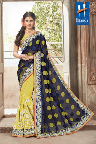 Solitaire Saree 7185