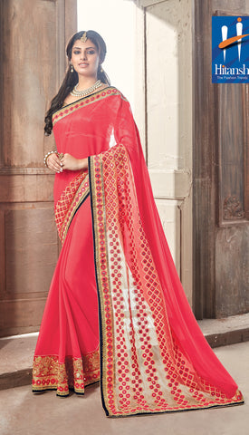 Solitaire Saree 7187