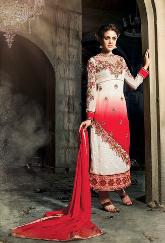 :Georgette sheded suits