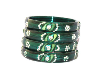 Punjabl Dailywear glass bangle set