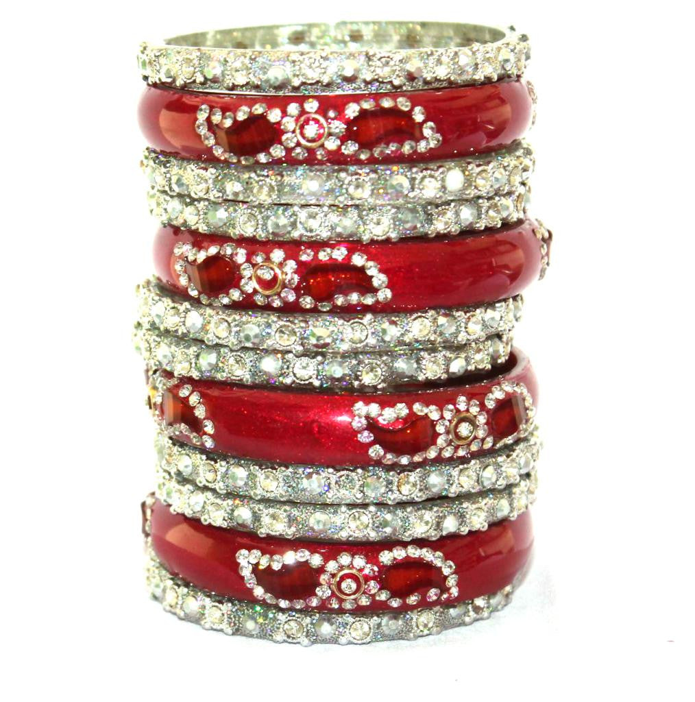 Rajasthani bridal glass bangle choora