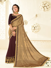 Plus Saree 10447