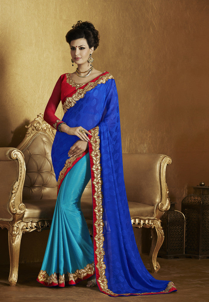 ffb4741fcf996f ... saree with velvet blouse Combo Offer. Pink and beige crepe silk sree
