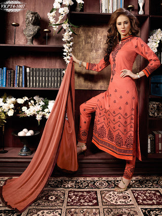 Straight designer long knee length salwar suits