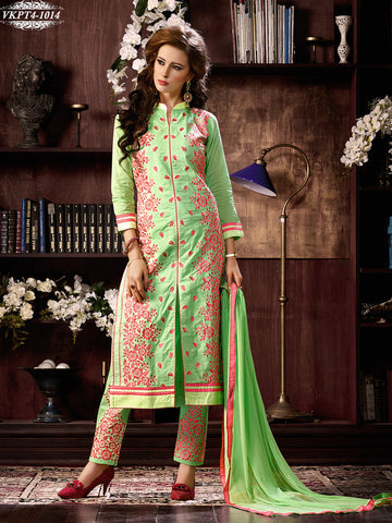 Green,Leon,designer suits,suits,party wear suits,work embroidery,heavy suits,straight suits,panta,salwar suits,salwar