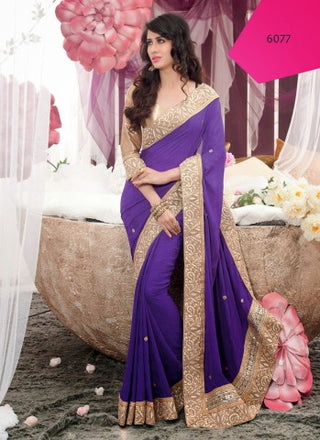 SO Saree 6077