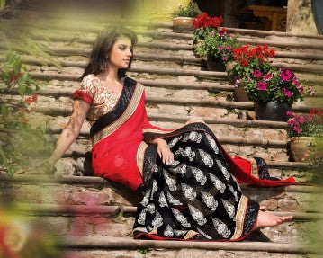 Fashionable Saree 3085
