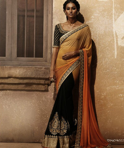 Women in Nakkashi sari