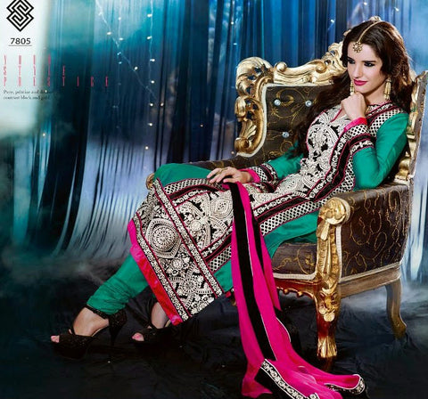 Swagat Collection Suit 7805