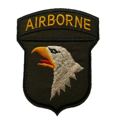 101st airborne rangers iron on sew on patch transfer