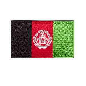 Afghanistan Country Flag Iron On Patch Sew On transfer
