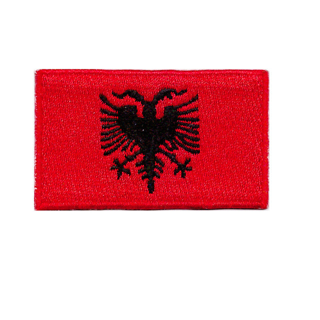 Albania Country flag Iron On Patch Sew On Transfer