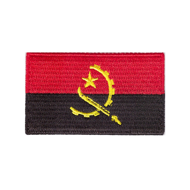Angola Country Flag Iron On Patch Sew On transfer