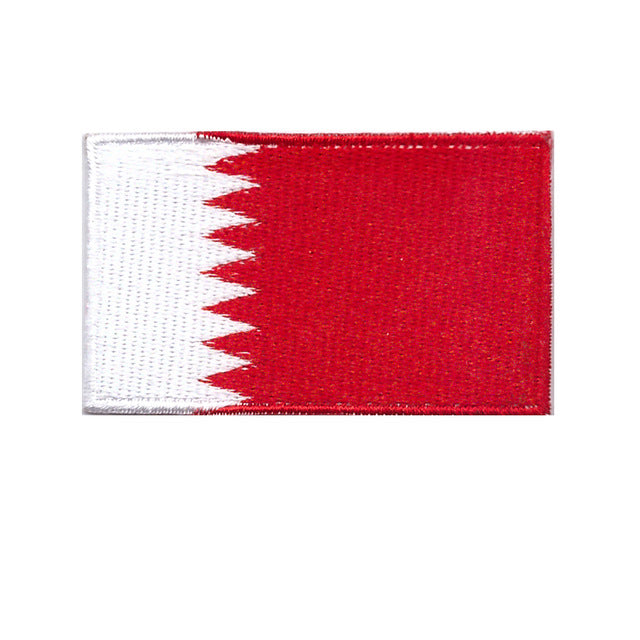 Bahrain national country Iron on patch sew on transfer