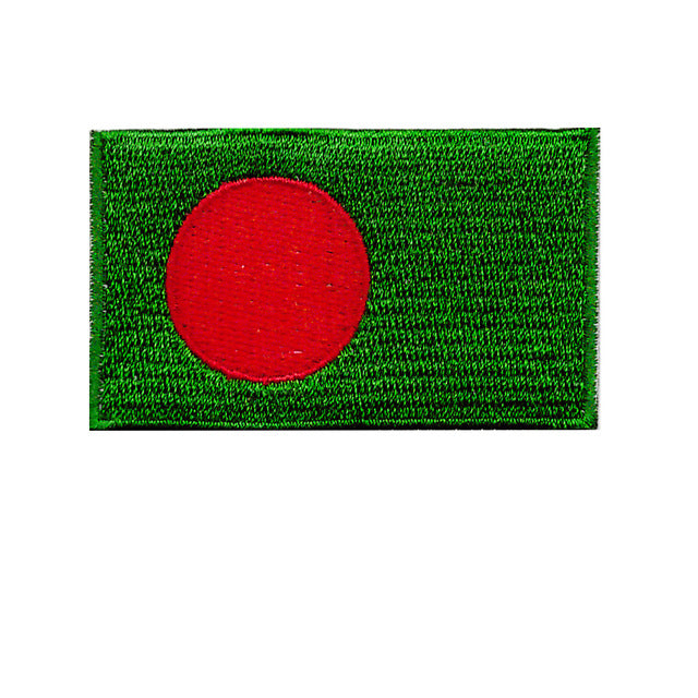 Bangladesh Country Flag Iron On Patch Sew On transfer