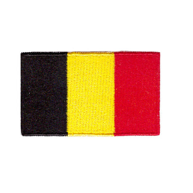 Belgium Country Iron On Patch Sew On Patch