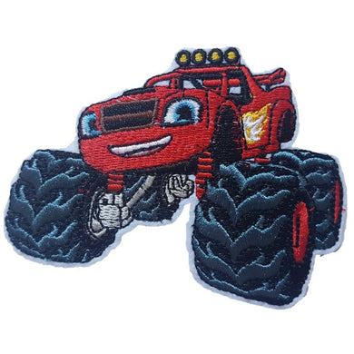 Blaze and The Monster Machines TV Show Iron On Patch Sew On Transfer