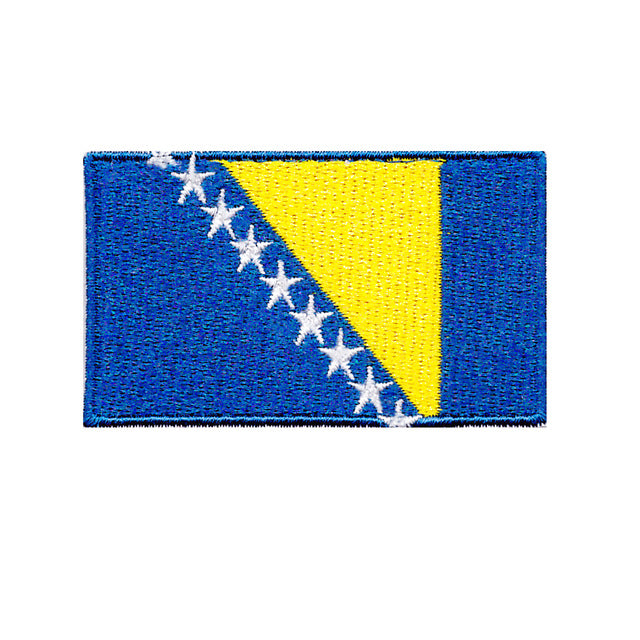 Bosnia and Herzegovina national country flag Iron On Patch Sew n transfer