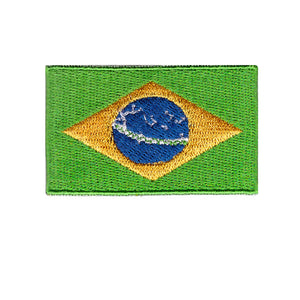 Brazil Flag iron on patch Sew On Transfer