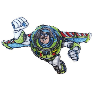 Toy Story Buzz Lightyear Iron On Patch Sew On Transfer