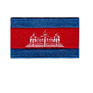 Cambodia country Iron On patch Sew on transfer