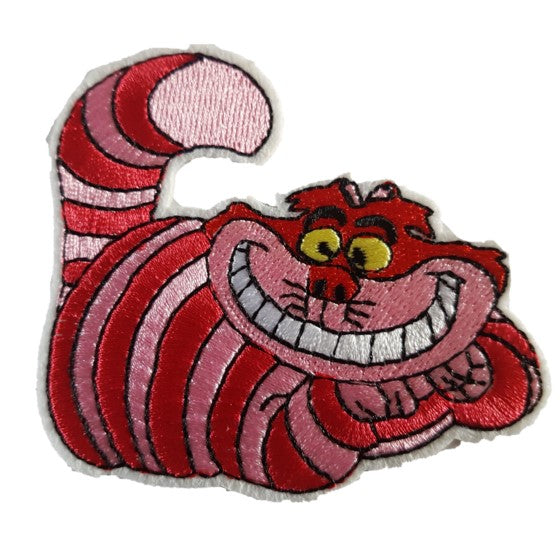 The Cheshire Cat Iron On Patch Sew On Transfer