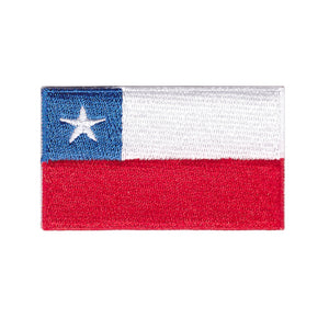 Chile National country Flag iron on patch sew on transfer