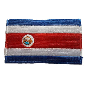 Costa Rica Country Flag Iron On Patch Sew On transfer