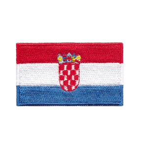 Croatia national country flag Iron on patch sew on transfer