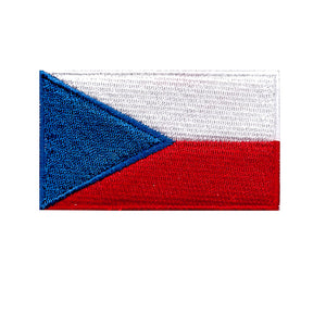 Czech Republic national country flag Iron on Patch Sew on transfer