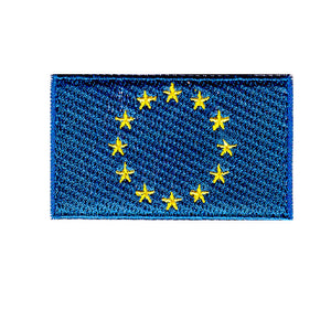 European union flag iron on patch sew on transfer