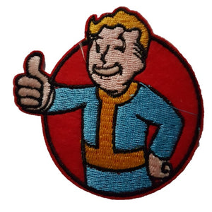 fallout games pip boy iron on patch sew on transfer