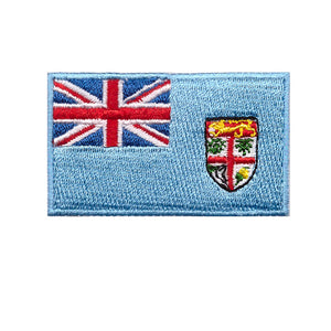 Fiji Country Flag Iron On Patch Sew On transfer