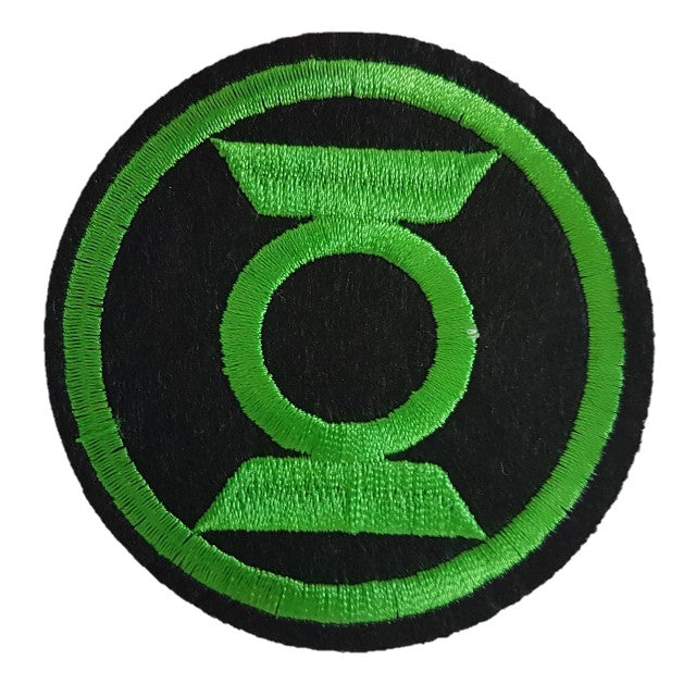 Green lantern logo Iron On Patch Sew on transfer