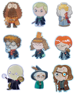 Harry Potter Inspired Characters Iron On Patch Sew on Transfers - Hogwarts Wizarding World