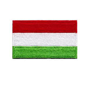 Hungary Hungarian country flag iron on patch sew on transfer