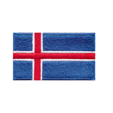 Iceland Country Flag Iron On Patch