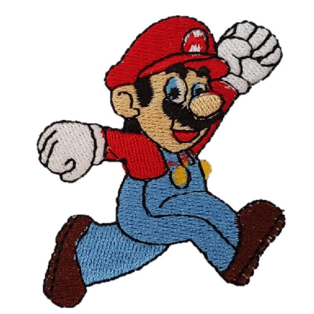 Mario character super Mario Iron on patch sew on transfer