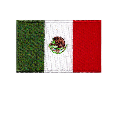 mexico country iron on flag sew on transfer