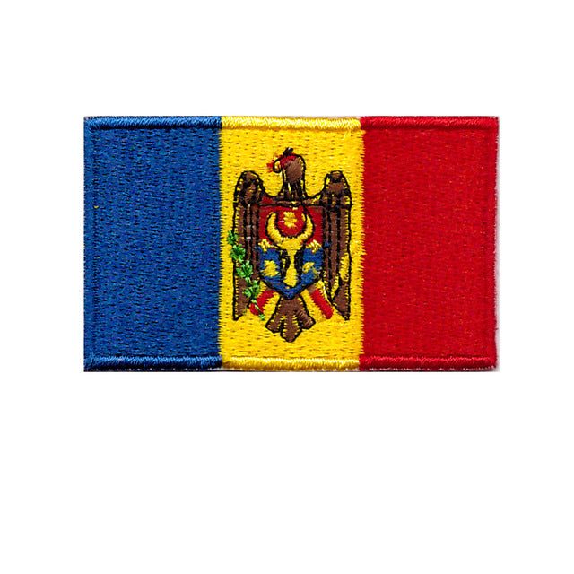 Moldova Country Iron On Sew on flag sew on transfer