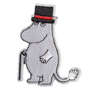 Moomins MoominPappa TV Show Iron On Patch Sew On Transfer