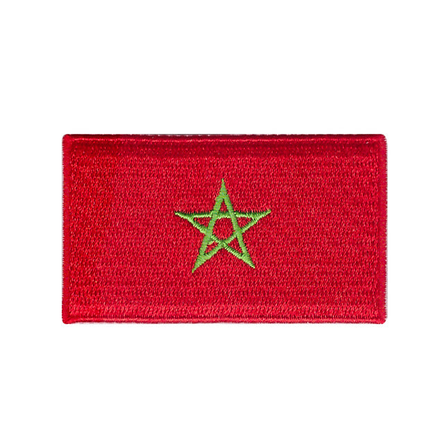Morocco national country Moroccan flag iron on patch sew on transfer