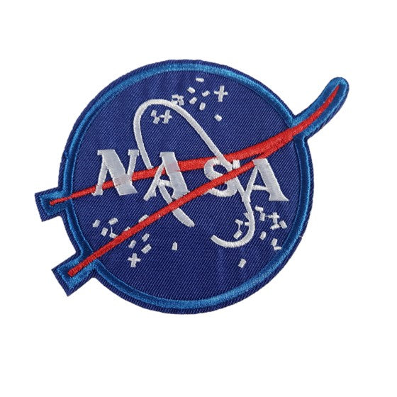 Nasa High Detail Iron On Patch Sew On Transfer - The National Aeronautics and Space Administration