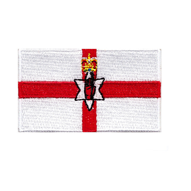 Northern Ireland flag Iron On Patch Sew on Transfer