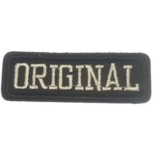 Original Bitch Words Slogan Motorcycle Biker Patch Iron On Patch sew on transfer